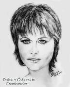 Bono Art - Dolores O Riordan   Cranberries by Liam O Conaire