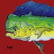 Dolphin Headach Print by Kevin Brant