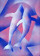 Dolphins Print by Hakon Soreide