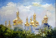 Dome Paintings - Dome.  Kiev by Anna Sokol