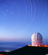 Mauna Kea Photos - Dome Of The Canada-france-hawaii Telescope by David Nunuk