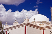 Desert Dome Photos - Dome of The Mission San Xavier by Jon Berghoff