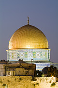 Holy Land Framed Prints - Dome Of The Rock. Muslim Holy Site Framed Print by Richard Nowitz