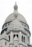 Sacre Coeur Art - Domes of Sacre Coeur in Paris by Kent Sorensen