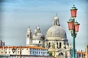 Domes Of Venice Photos - Domes of Venice by Sarah E Ethridge