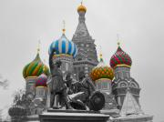 Onion Domes Photos - Domes by Rick  Monyahan
