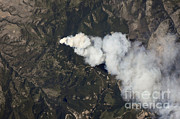 From Above Photos - Dominic Point Fire, Montana by NASA/Science Source