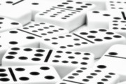 Game Photo Prints - Dominoes II Print by Tom Mc Nemar