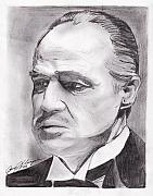 The Godfather Art - Don Corleone by Jason Kasper