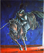 Don Quijote Paintings - Don Quijote by Niksic Kresimir