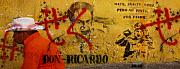 Grafitti Prints - Don-Ricardo Print by Skip Hunt