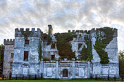 Parapet Prints - Donadea Castle HDR Print by Semmick Photo