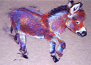Donkey Pastels - Donkey by Barbara Richert