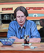 The Dude Paintings - Donny Kerabatsos by Tom Roderick