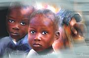 Haiti Metal Prints - Dont Let Us Fade Away Metal Print by Bob Salo