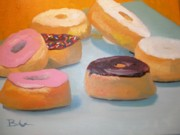 Donuts Painting Originals - Donut Break by Barbara Auito