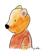 Kim Niles Digital Art - Doodle Bear by Kim Niles