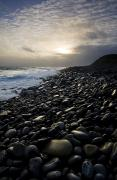 Beach Scenes Photos - Doolin, County Clare, Ireland Pebble by Peter McCabe