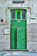 Aperture Photos - Door 10 by Alain De Maximy