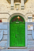 Aperture Photos - Door 11 by Alain De Maximy