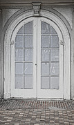 Window Panes Prints - Door 20 Print by Cheryl Young