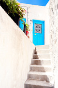 Agios Isidoros  Framed Prints - Door 6 Framed Print by Emmanuel Panagiotakis