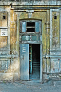 Aperture Prints - Door 9 Print by Alain De Maximy