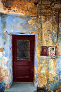 Old Door Photos - Door 9 by Emmanuel Panagiotakis