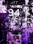 Purple Art - Door 94 Perception by Bob Orsillo