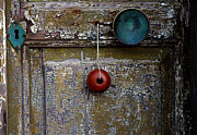 Old Door Framed Prints - Door Adornments Framed Print by TB Sojka