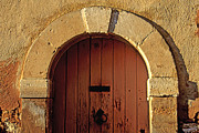 Provencal Prints - Door Print by Bernard Jaubert