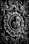 Blackrussian Prints - Door detail 2 Print by Val Black Russian Tourchin
