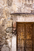 Spanish Prints - Door Detail Mexico Print by Carol Leigh
