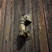 BERNARD JAUBERT - Door handle in the shape of a hand