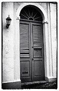 Puerto Rico Art - Door in San Juan by John Rizzuto