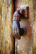 Medieval Entrance Posters - Door knocker Poster by Carlos Caetano