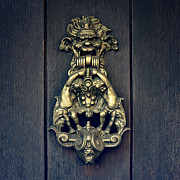 Old Door Photos - Door Knocker by Joana Kruse