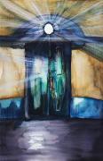 Cosmic Paintings - Door Light by Tara Thelen
