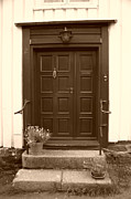 Doorbell Posters - Door Number Two Poster by Nina Fosdick