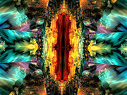 "\""algorithmic Abstract\\\"" Prints - Door of destiny Print by Claude McCoy"