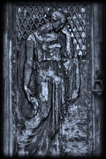 Crypt Prints - Door Of Sorrows 2 Print by Mark Fuller