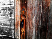 Rural Art - Door to the Past by Julie Hamilton