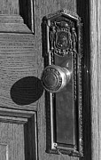 Doorknob Prints - Doorknob in morning Print by David Bearden