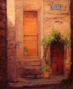 Portal Originals - Doors at Civita Di Bagnoregio by R W Goetting
