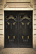 Entrance Door Photo Metal Prints - Doors Metal Print by Elena Elisseeva