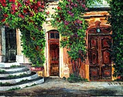 French Doors Originals - Doors Of Provence by Rita Smith