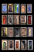 Doors Of The World Print by Rianna Stackhouse