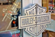 Harley Davidson Road King Motorcycles Photos - Doors to Hog Heaven by Rene Triay