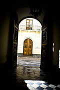 Wooden Building Originals - Doors wide open                  by Nelieta Mishchenko