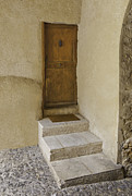 Flagstones Prints - Doorway in France Print by Fred J Lord